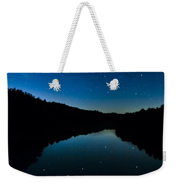 Big Dipper Reflection Weekender Tote Bag