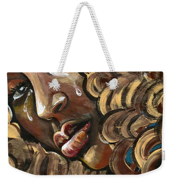 Big Girls Dont Cry Weekender Tote Bag