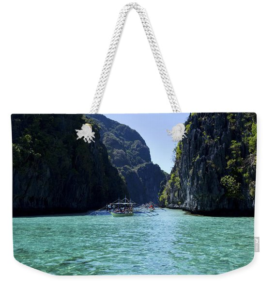 Big Lagoon In Palawan Weekender Tote Bag