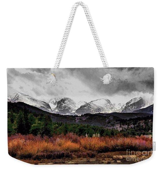 Big Storm Weekender Tote Bag