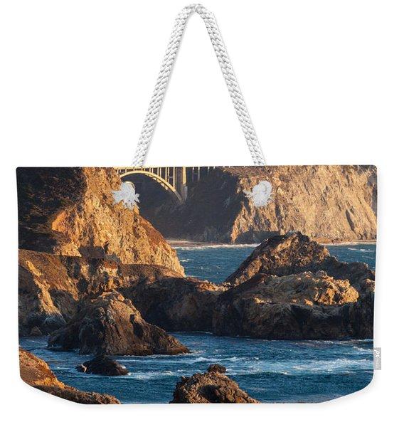 Big Sur Coastal Serenity Weekender Tote Bag