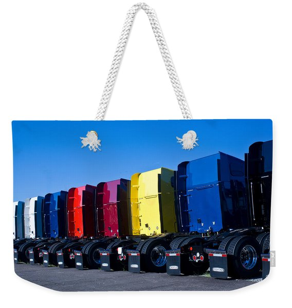 Big Trucks 2 Weekender Tote Bag