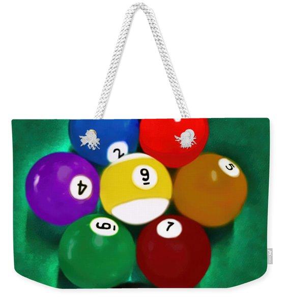 Billiards Art - Your Break 1 Weekender Tote Bag