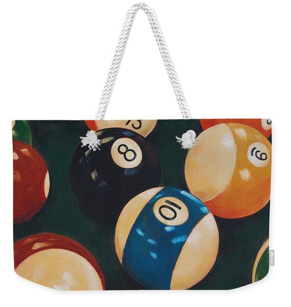 Billiards Weekender Tote Bag