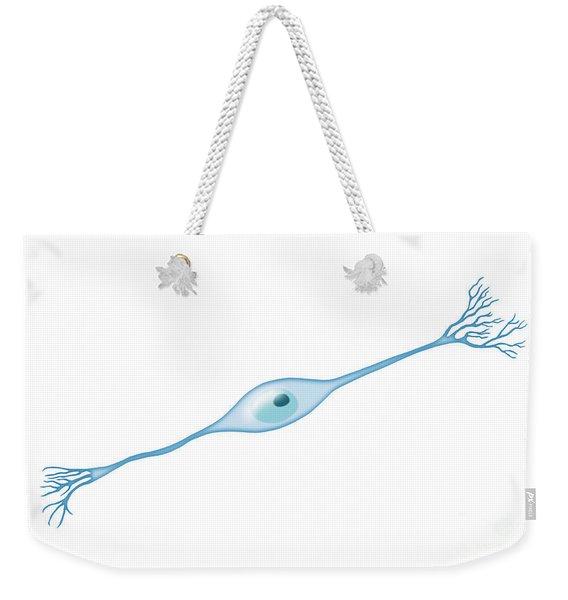 Bipolar Neuron Weekender Tote Bag