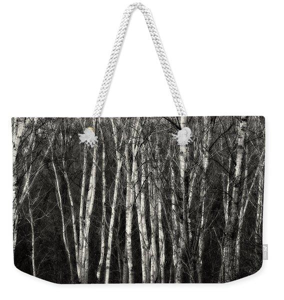 Birches Weekender Tote Bag