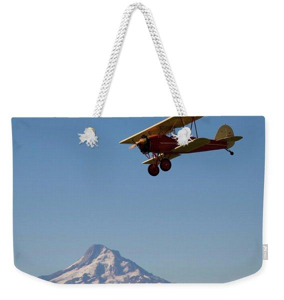 Bird A Flies Over Hood River Valley Weekender Tote Bag