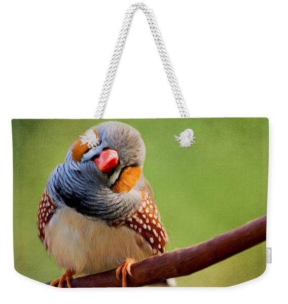 Bird Art - Change Your Opinions Weekender Tote Bag