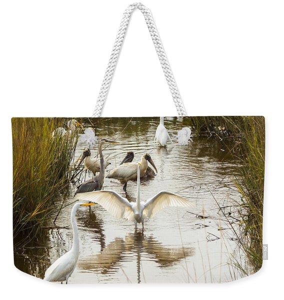 Bird Brunch 2 Weekender Tote Bag