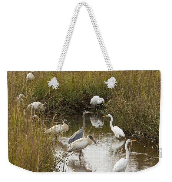 Bird Brunch Weekender Tote Bag