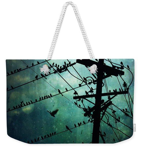 Bird City Weekender Tote Bag