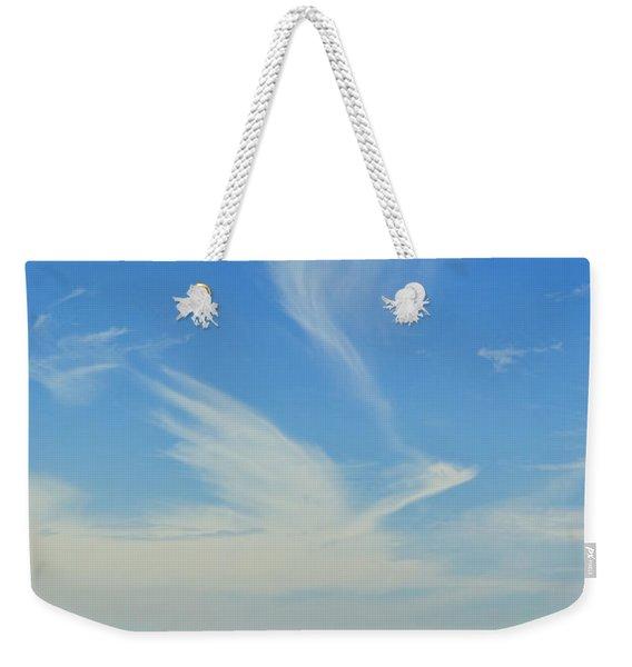 Bird Cloud Weekender Tote Bag