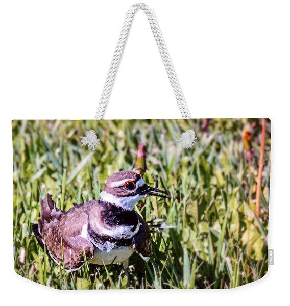 Bird In The Gruss Weekender Tote Bag