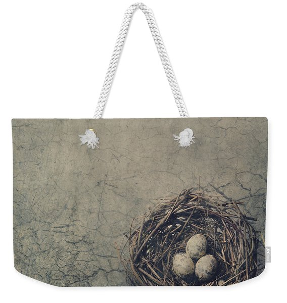 Bird Nest Weekender Tote Bag