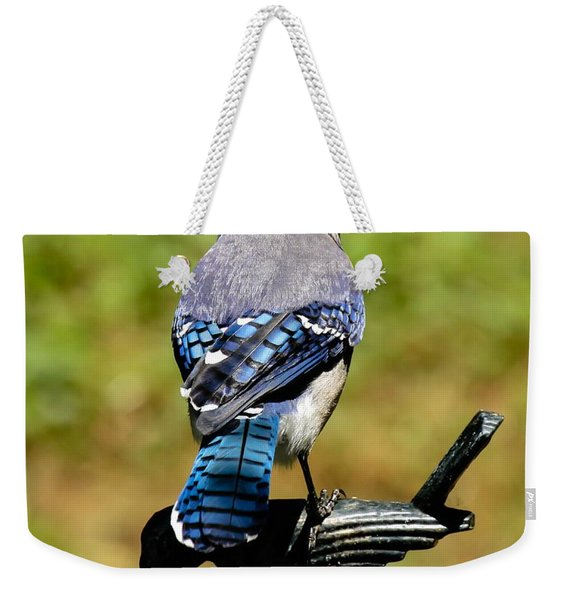 Bird On A Bird Weekender Tote Bag