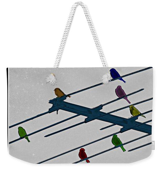 Bird Reception Weekender Tote Bag