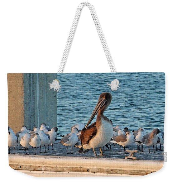 Birds - Among Friends Weekender Tote Bag