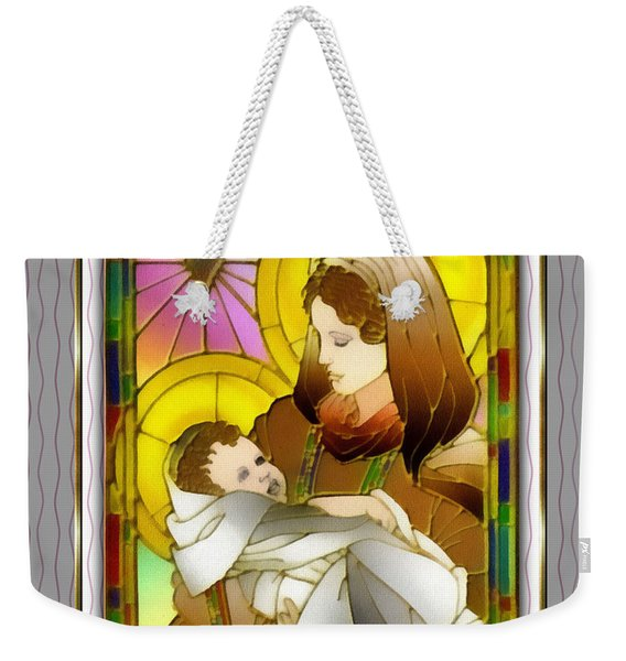 Birth Of The Christ Weekender Tote Bag