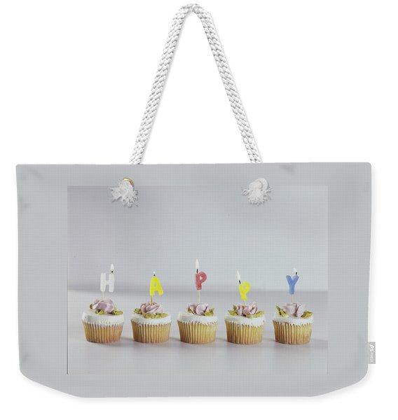 Birthday Cupcakes Weekender Tote Bag