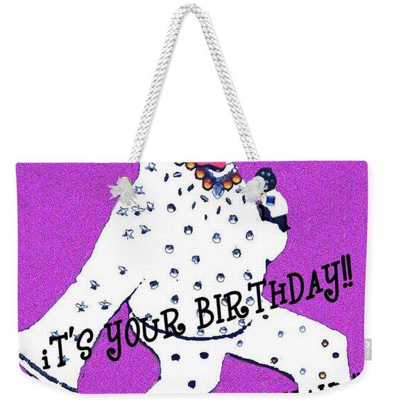 Birthday Mama Weekender Tote Bag
