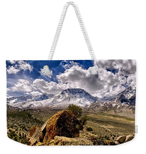 Bishop California Weekender Tote Bag