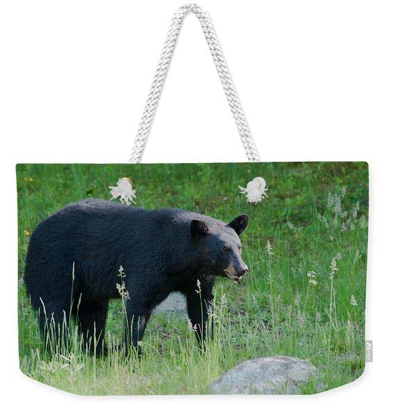 Black Bear Female Weekender Tote Bag