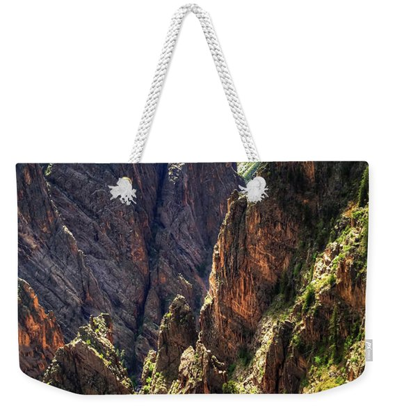 Black Canyon Of The Gunnison National Park I Weekender Tote Bag