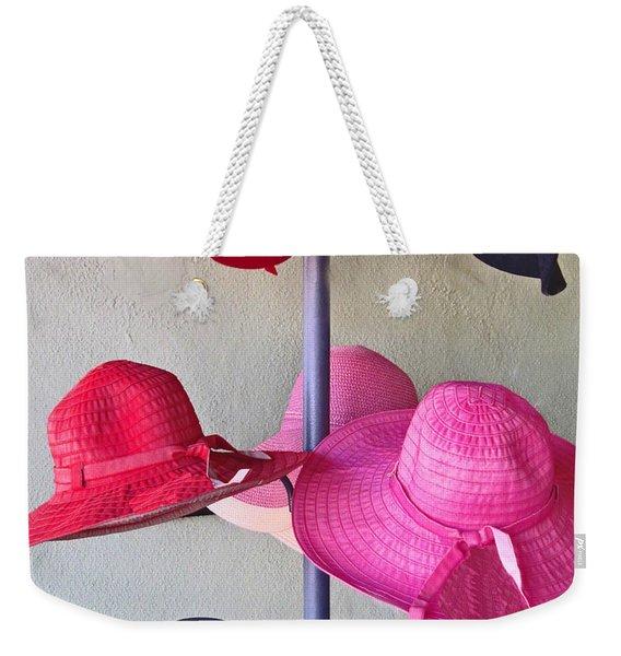 Black Chapeau Of The Family Weekender Tote Bag