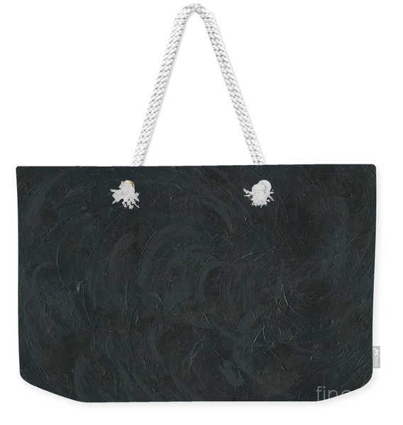 Black Color Of Energy Weekender Tote Bag