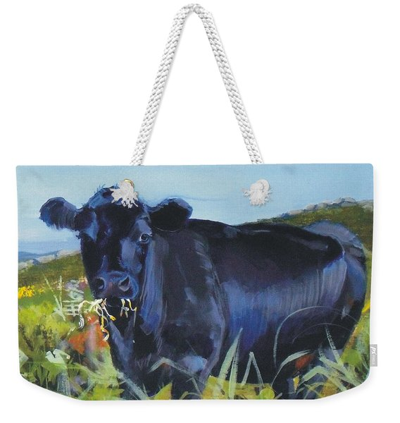 Cows Dartmoor Weekender Tote Bag