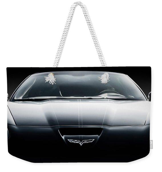 Black Grand Sport Corvette Weekender Tote Bag