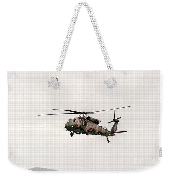 Black Hawk  Weekender Tote Bag
