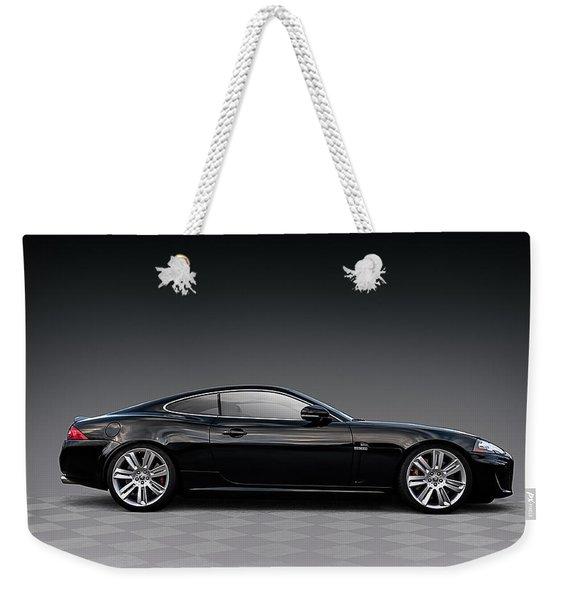 Black Jag Weekender Tote Bag
