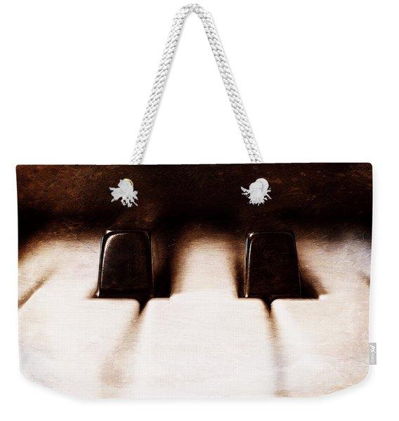 Black Keys D Flat And E Flat  Weekender Tote Bag