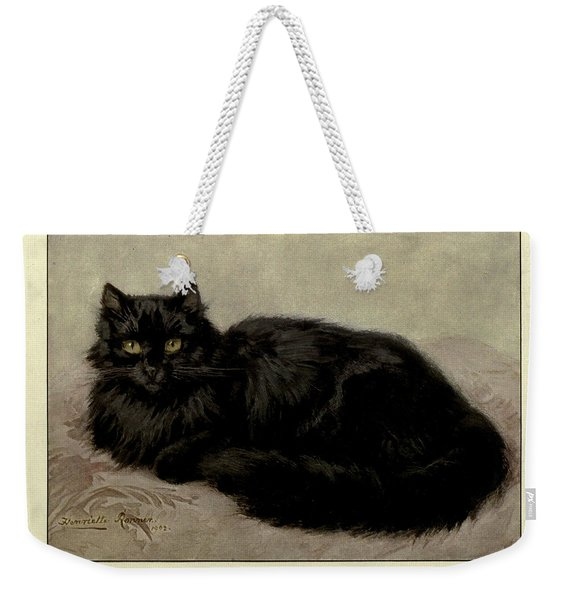 Black Persian Weekender Tote Bag