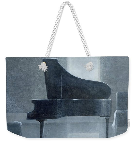 Black Piano 2004 Weekender Tote Bag