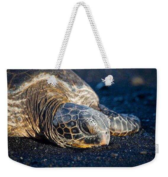 Black Sand Nap Weekender Tote Bag