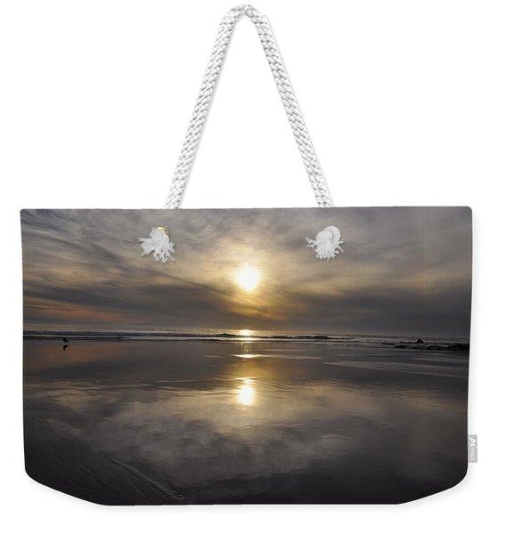 Black Sunset Weekender Tote Bag