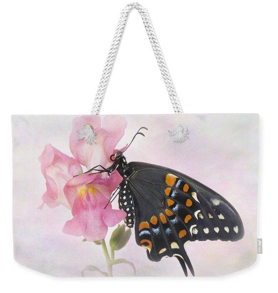 Black Swallowtail Iv Weekender Tote Bag