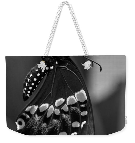 Black Swollowtail  Weekender Tote Bag