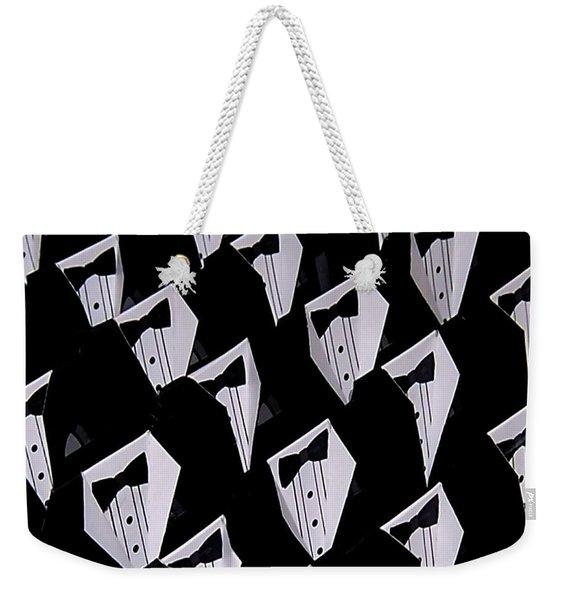 Black Tie Affair Weekender Tote Bag