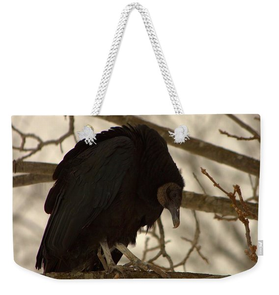 Black Vulture 4 Weekender Tote Bag