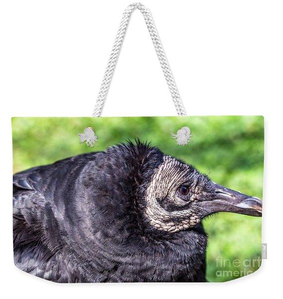 Black Vulture Waiting For Prey Weekender Tote Bag