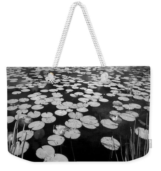 Black Water Weekender Tote Bag