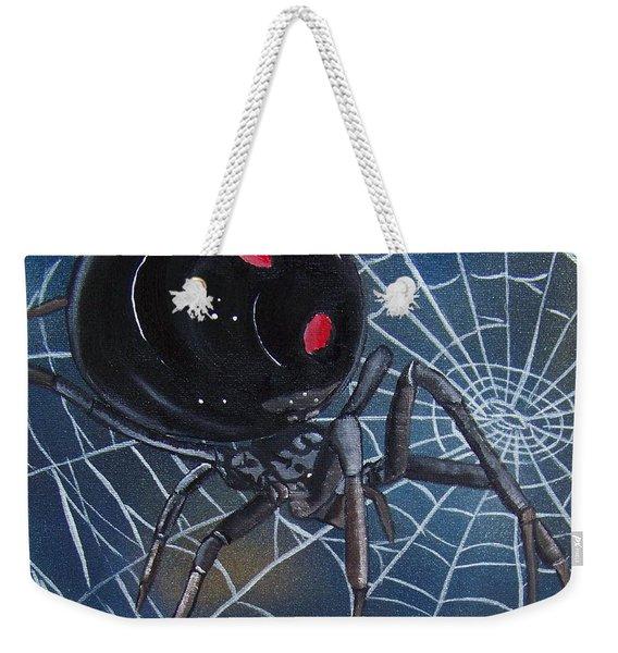 Black Widow Weekender Tote Bag