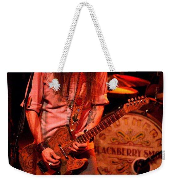 Blackberry Smoke Guitarist Charlie Starr Weekender Tote Bag