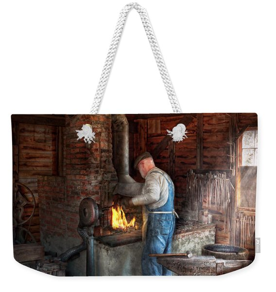 Blacksmith - The Importance Of The Blacksmith Weekender Tote Bag