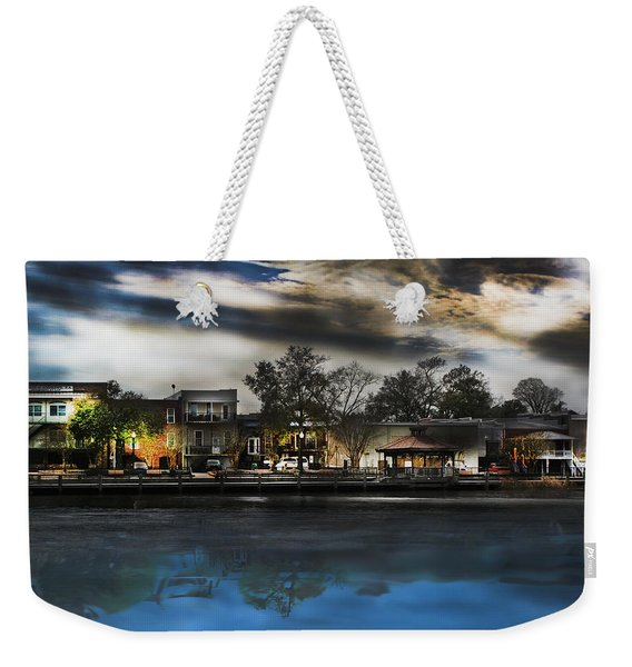 Blackwater River Weekender Tote Bag