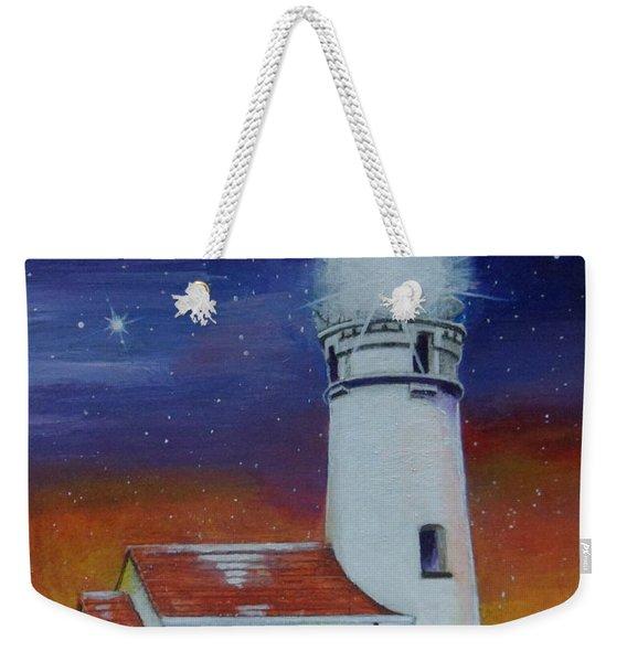 Blanco Lighthouse Weekender Tote Bag