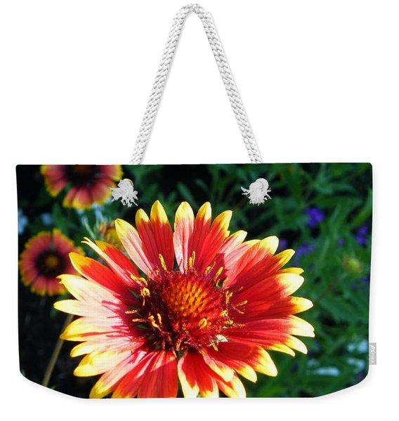 Blanket Flower Weekender Tote Bag
